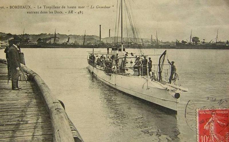 Les torpilleurs français T17_gr10