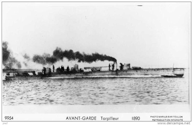 Les torpilleurs français T18_av10