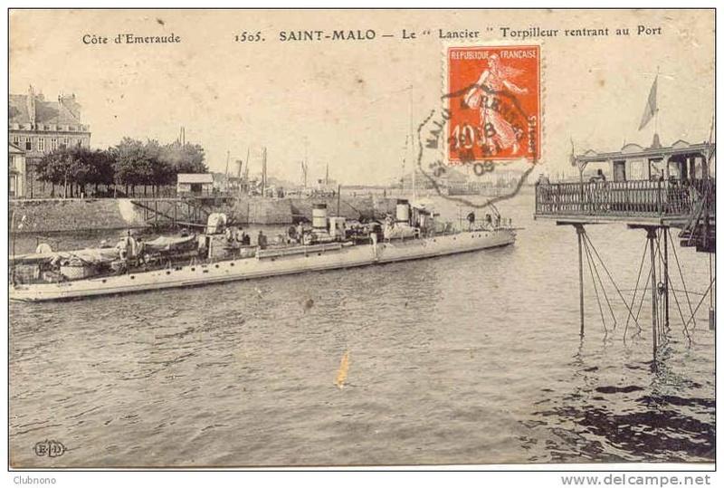 Les torpilleurs français T21_la10