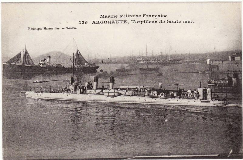 Les torpilleurs français T35_ar10
