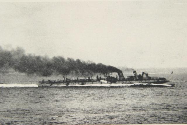 Les torpilleurs français T40_la10