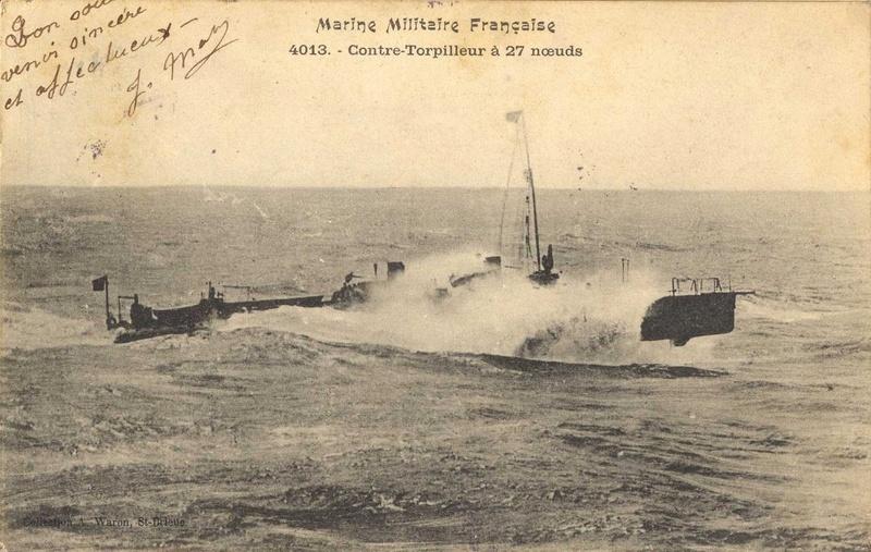 Les torpilleurs français T41_ar10