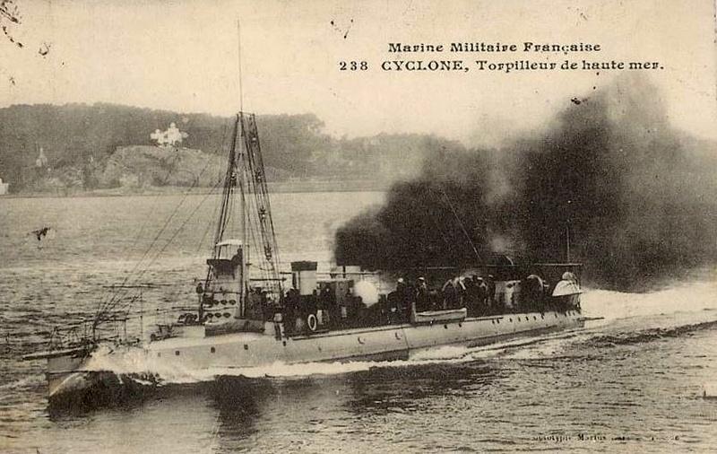 Les torpilleurs français T45_cy10