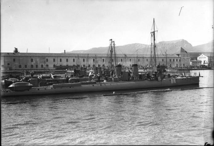 Les torpilleurs français T46_bo10