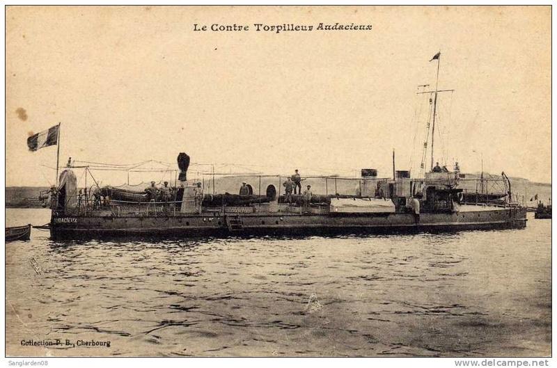 Les torpilleurs français T50_au11