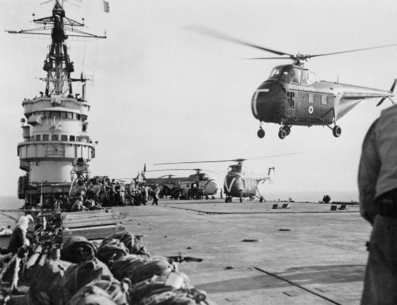 La crise de Suez: 20 octobre 1956 au 7 novembre 1956 Theseu10