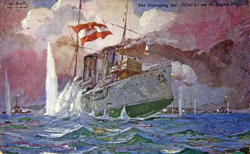Marine Austro-Hongroise  Zentau10