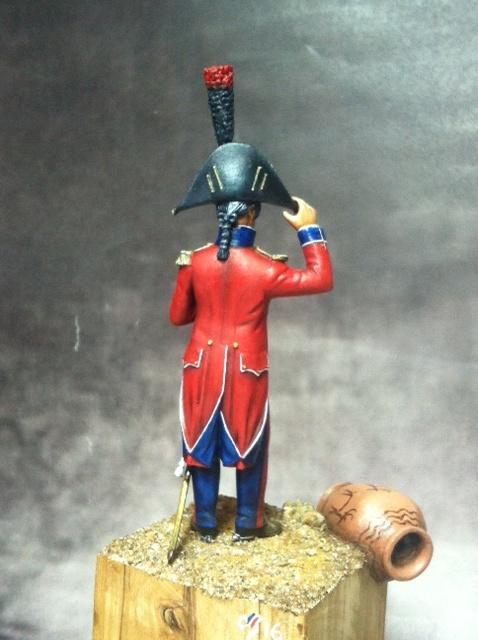 Lieutenant 25ème régiment- demi-brigade en Egypte par BONO Photo_10