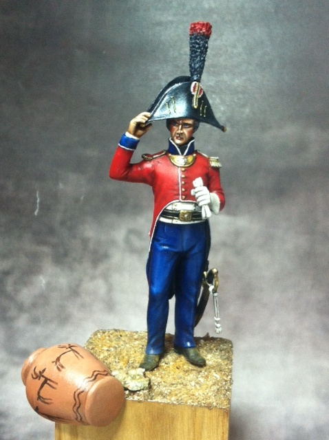 Lieutenant 25ème régiment- demi-brigade en Egypte par BONO Photo_12