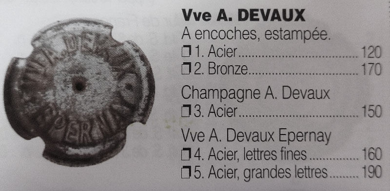 Les plombs de champagne For55511