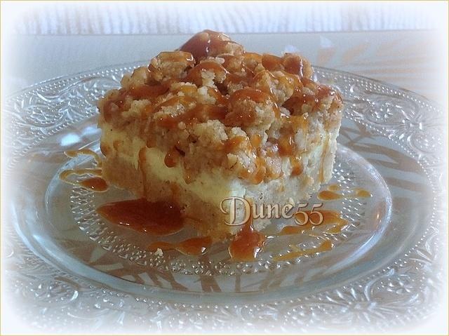 Carré au Caramel Pomme et fromage Jiradt10