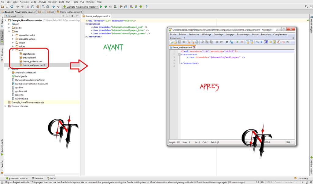 Crée un Theme Nova avec Android Studio ....(BALOO0310) 1411