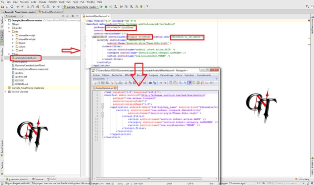 Crée un Theme Nova avec Android Studio ....(BALOO0310) 1510