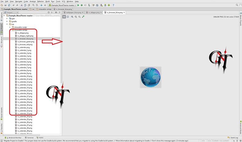 Crée un Theme Nova avec Android Studio ....(BALOO0310) 911