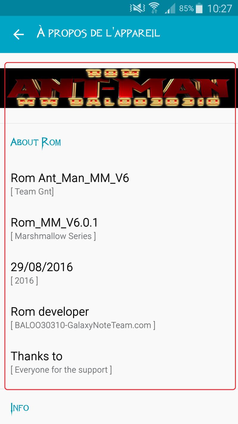 ANT-MAN-ROM-MM V6 (BALOO30310) (En Ligne) Screen18