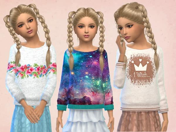Girls Sweatshirts by SweetDreamsZzzzz W-600h12