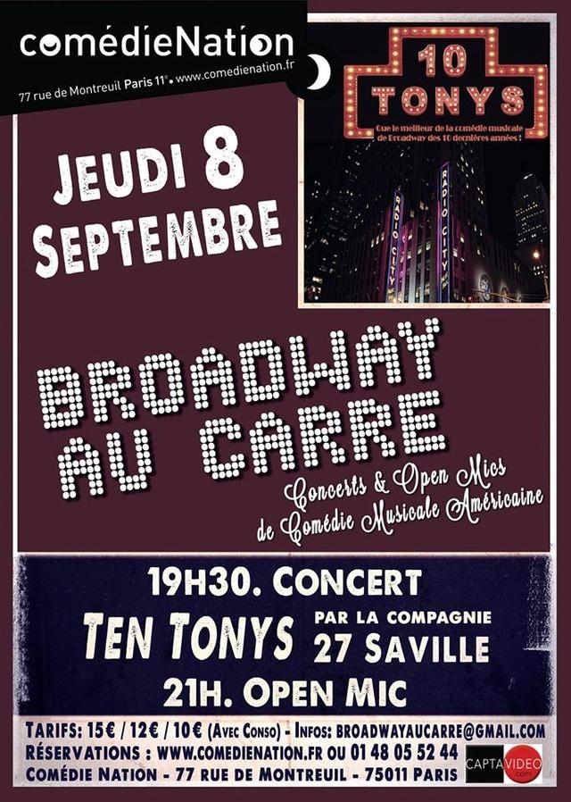 [Paris] Broadway au Carré 14067910