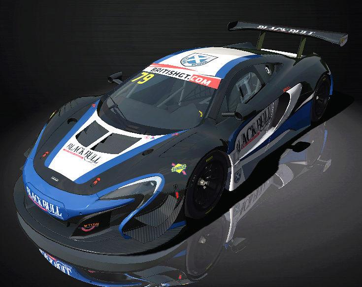 AMS: British GT - GT3 - 2016 - v1.0 skinpack released 43160011