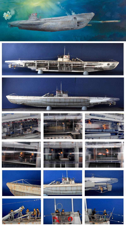 U-Boat 1/48 Trumpeter 26871_10