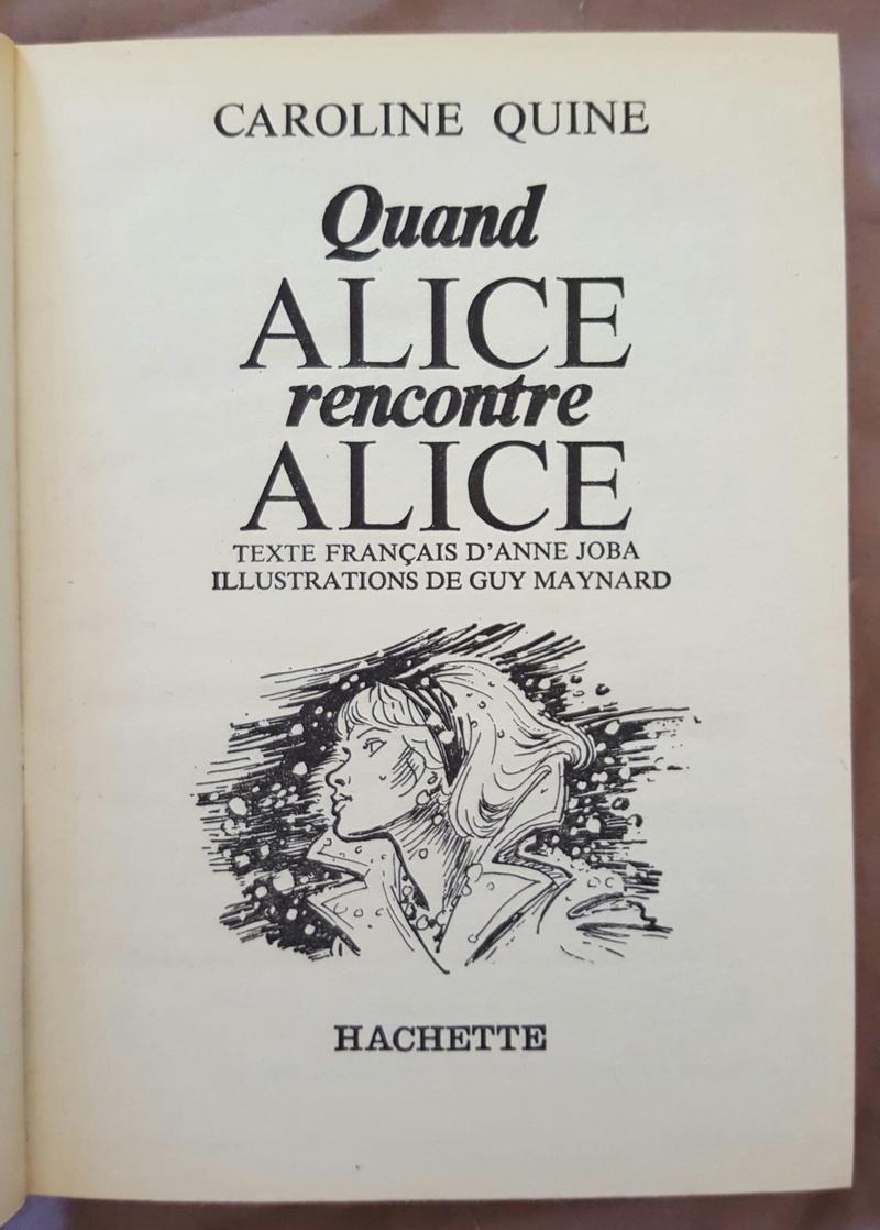 Recherches sur les anciennes éditions d'Alice (Titres 31 à 45) 20160921