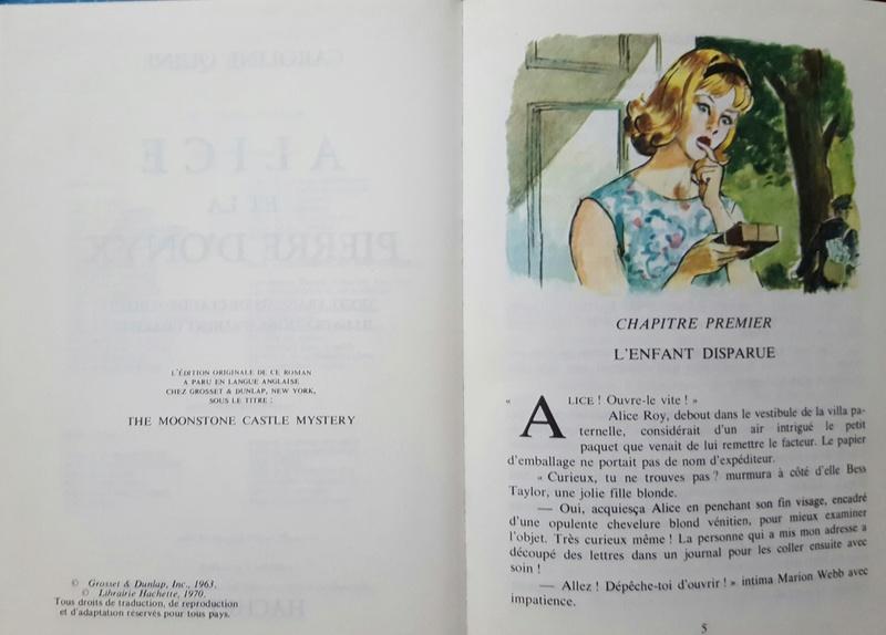 Recherches sur les anciennes éditions d'Alice (Titres 31 à 45) 20161014