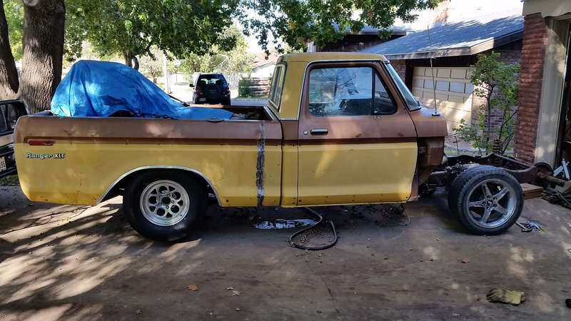 The F250 to F100 turbo project 20161013