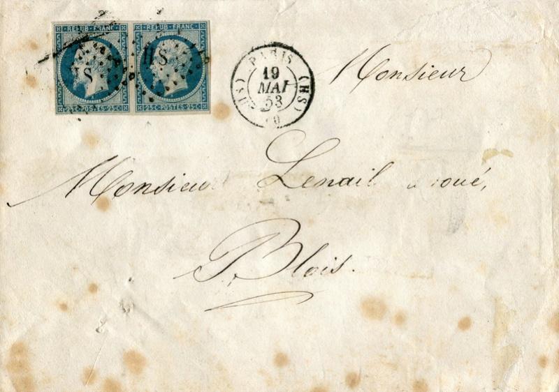 Losanges de PARIS 1852 /1863 chiffres bâton ou romaines Img26810