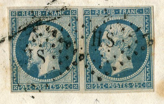 Losanges de PARIS 1852 /1863 chiffres bâton ou romaines Img26910
