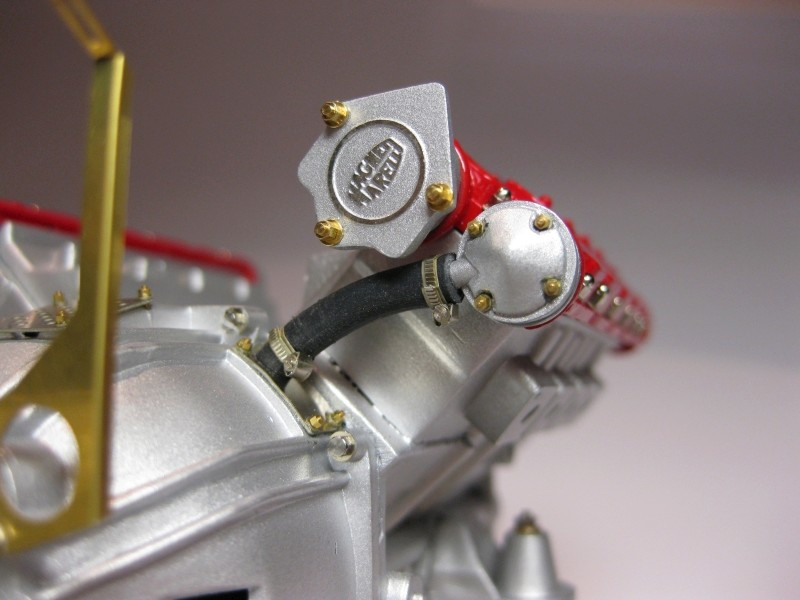 Ferrari F40 von Pocher 1:8 mit autograph Transkit gebaut von Paperstev Motor016