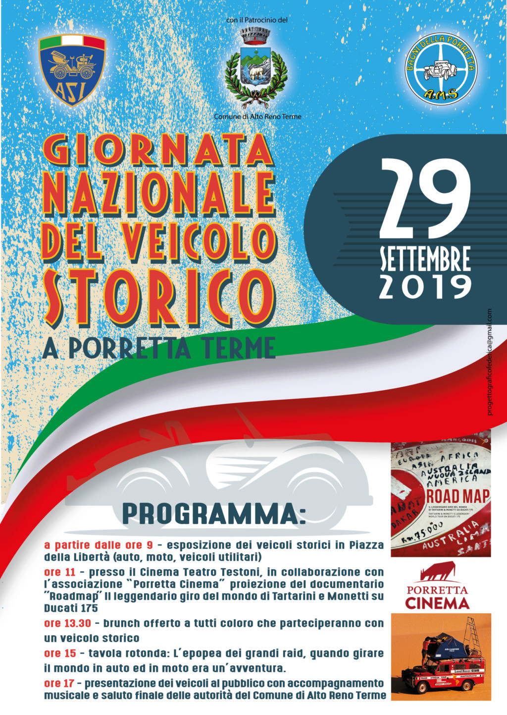 """Domenica """"Giornata Nazionale del Veicolo d'Epoca"""" 3_19_v10"""
