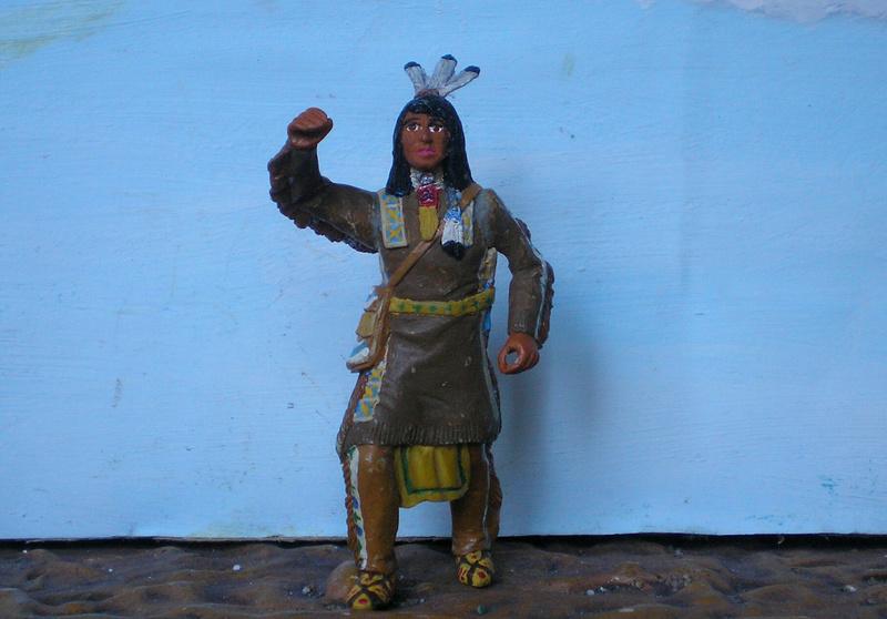 Bemalungen, Umbauten, Modellierungen – neue Indianer für meine Dioramen - Seite 12 116f6b10