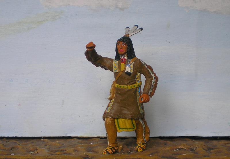 Bemalungen, Umbauten, Modellierungen – neue Indianer für meine Dioramen - Seite 12 116f6c10