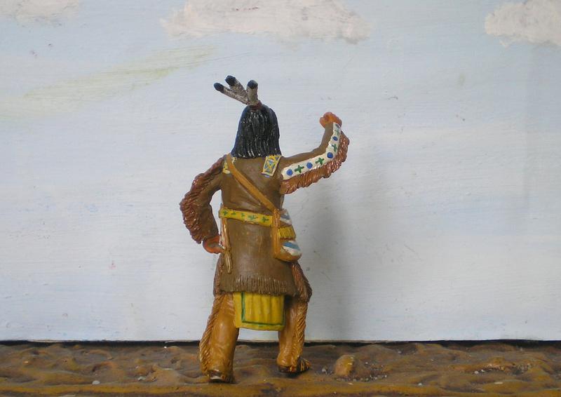 Bemalungen, Umbauten, Modellierungen – neue Indianer für meine Dioramen - Seite 12 116f6c11