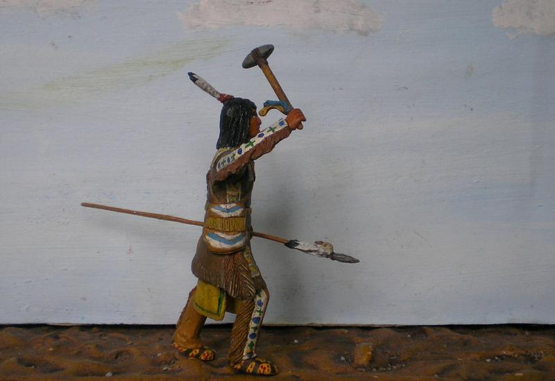 Bemalungen, Umbauten, Modellierungen – neue Indianer für meine Dioramen - Seite 12 116f6c12