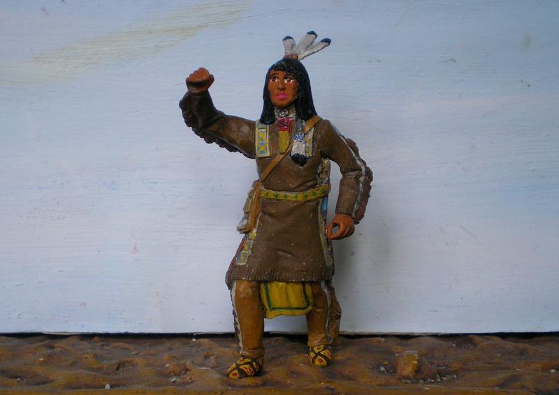 Bemalungen, Umbauten, Modellierungen – neue Indianer für meine Dioramen - Seite 12 116f6c13
