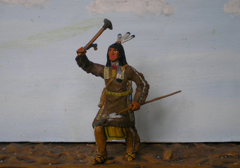 Bemalungen, Umbauten, Modellierungen – neue Indianer für meine Dioramen - Seite 12 116f6c14