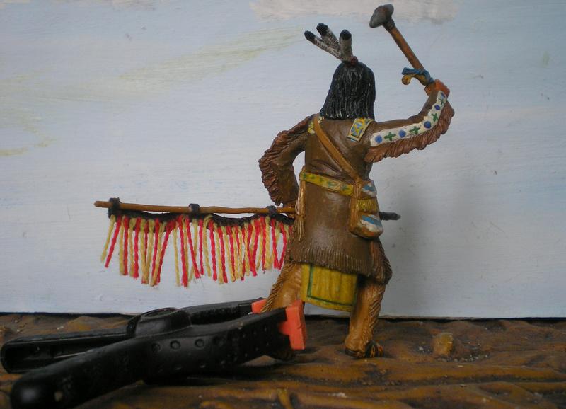 Bemalungen, Umbauten, Modellierungen – neue Indianer für meine Dioramen - Seite 12 116f7e10