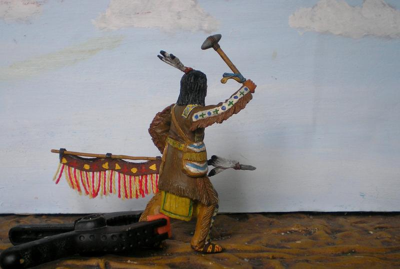 Bemalungen, Umbauten, Modellierungen – neue Indianer für meine Dioramen - Seite 12 116f7f10