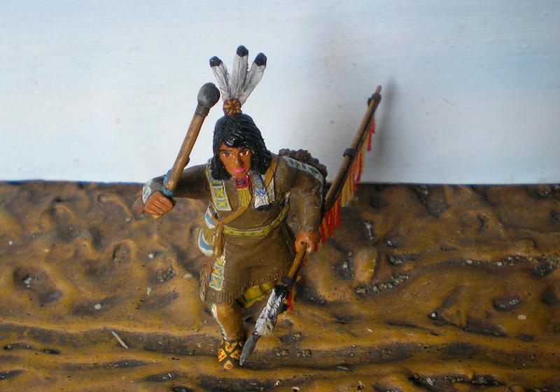 Bemalungen, Umbauten, Modellierungen – neue Indianer für meine Dioramen - Seite 12 116f8a10