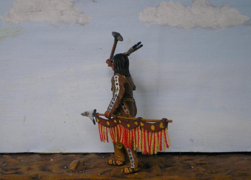 Bemalungen, Umbauten, Modellierungen – neue Indianer für meine Dioramen - Seite 12 116f8b10