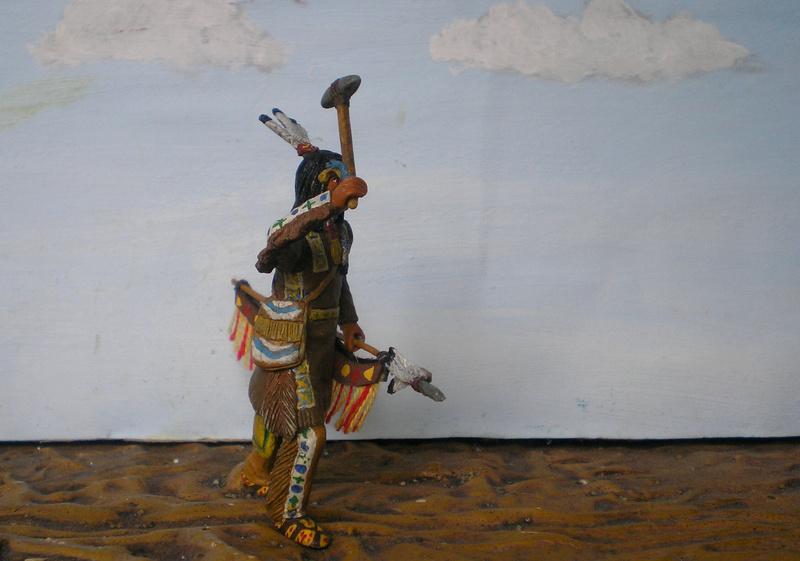 Bemalungen, Umbauten, Modellierungen – neue Indianer für meine Dioramen - Seite 12 116f8b11