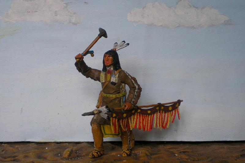 Bemalungen, Umbauten, Modellierungen – neue Indianer für meine Dioramen - Seite 12 116f8b12