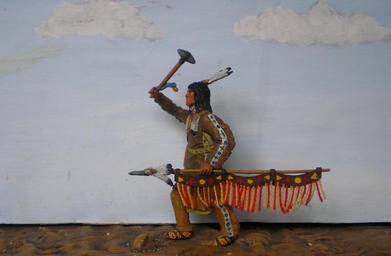 Bemalungen, Umbauten, Modellierungen – neue Indianer für meine Dioramen - Seite 12 116f8b13