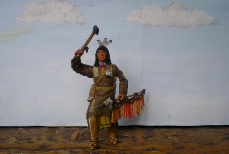 Bemalungen, Umbauten, Modellierungen – neue Indianer für meine Dioramen - Seite 12 116f8b14