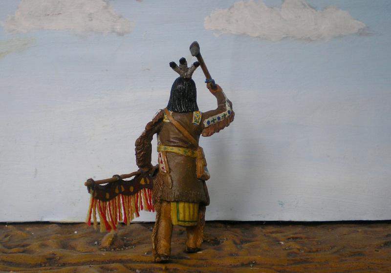Bemalungen, Umbauten, Modellierungen – neue Indianer für meine Dioramen - Seite 12 116f8b15
