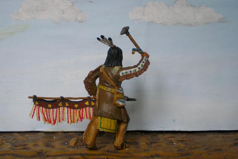 Bemalungen, Umbauten, Modellierungen – neue Indianer für meine Dioramen - Seite 12 116f8b16