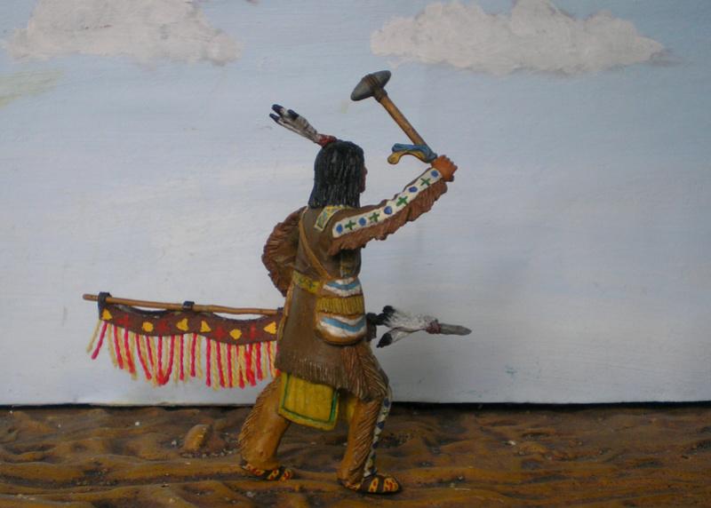Bemalungen, Umbauten, Modellierungen – neue Indianer für meine Dioramen - Seite 12 116f8b17