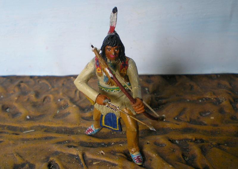 Bemalungen, Umbauten, Modellierungen – neue Indianer für meine Dioramen - Seite 12 116g3f10
