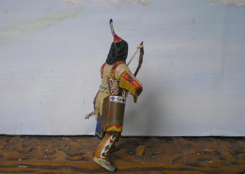 Bemalungen, Umbauten, Modellierungen – neue Indianer für meine Dioramen - Seite 12 116g4b13