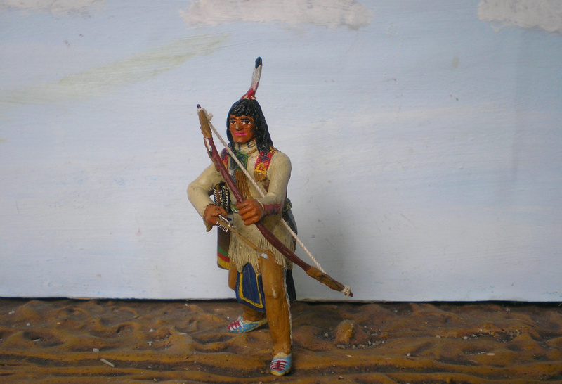 Bemalungen, Umbauten, Modellierungen – neue Indianer für meine Dioramen - Seite 12 116g4b14